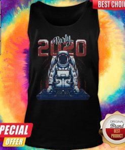 Nice Astronaut Party Dj 2020 Tank Top