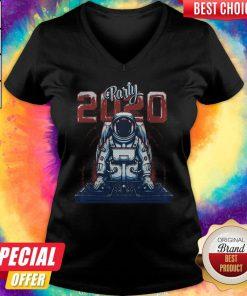 Nice Astronaut Party Dj 2020 V-neck