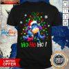Eeyore Ho Ho Ho Cute Christmas Shirt Design By Valleytee.com