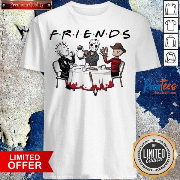 Hellraiser Jason Voorhees Freddy Krueger Friends Halloween Shirt Design By Pocatee.com