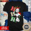 Nice Ho Ho Ho Snoopy Christmas Shirt Design By Valleytee.com