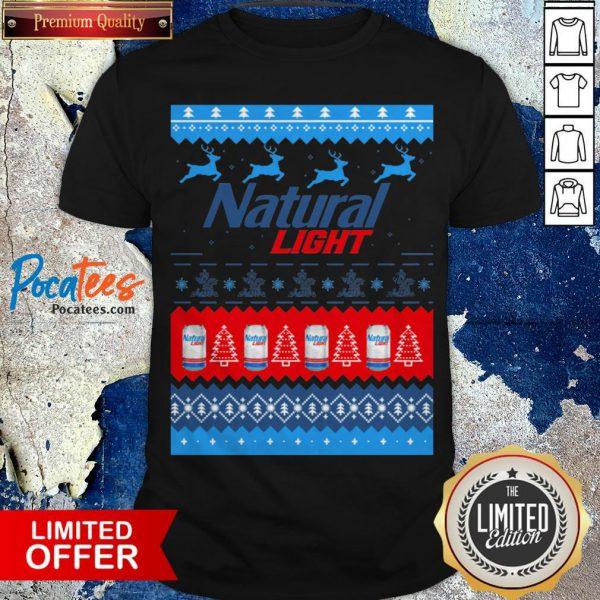Nice Natural Light Merry Christmas Shirt Design By Pocatee.com
