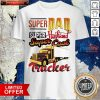 Nice Super dad Super Husband Super Cool Trucker Shirt