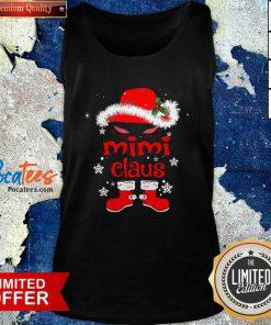 Santa Women Mimi Claus Christmas Tank Top- Design By Pocatees.com