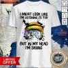 I Might Look Like I'm Listening To You But In My Head I'm Skiing Shirt- Design By Romancetees.com