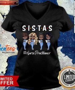 Good Four Sistas Nurse Practitioner V-neck