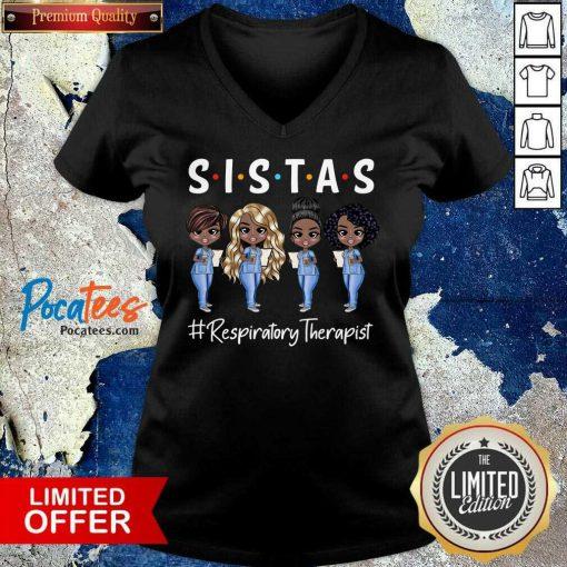 Hot Four Sistas Nurse Practitioner V-neck