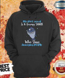 Vip My Spirit Animal Is A Grumpy Shark Hoodie