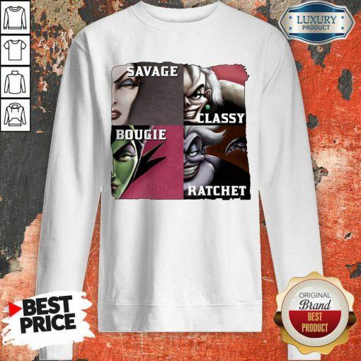 Vip Savage Sassy Bougie Rachet Sweatshirt