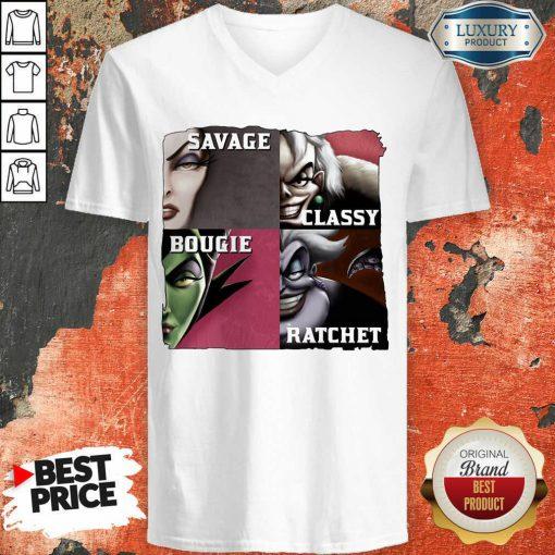Vip Savage Sassy Bougie Rachet V-neck
