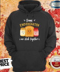 Vip We Stick Together Sandwich Team Kindergarten Hoodie