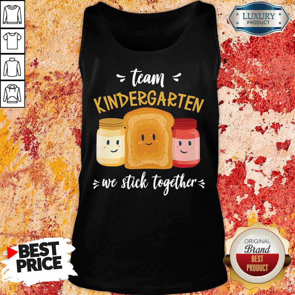 Vip We Stick Together Sandwich Team Kindergarten Tank Top