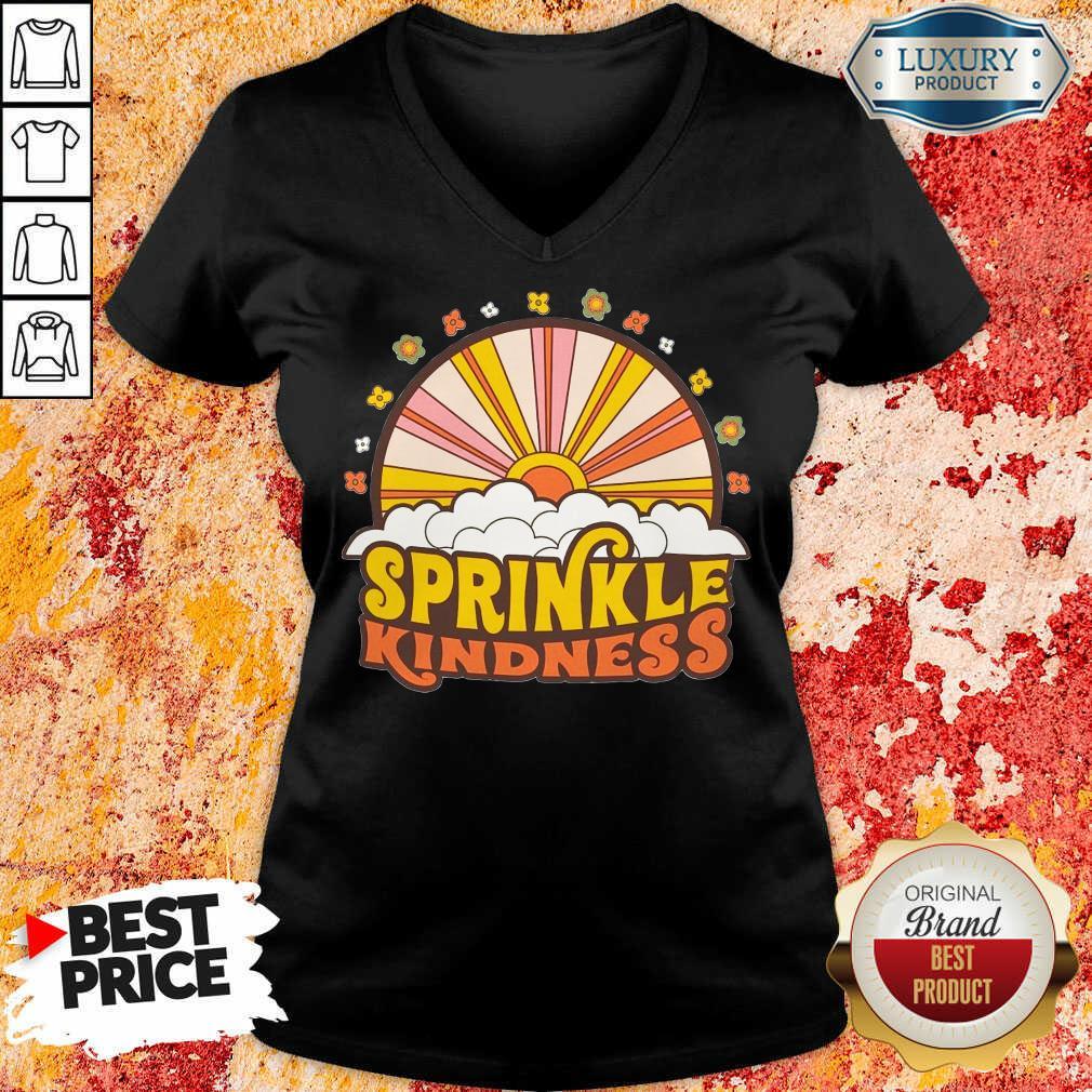 Top Sprinkle Kindness V-neck