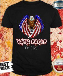2020 American Flag YaYa Eagle Shirt