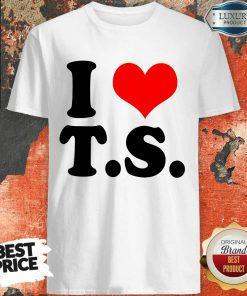Nice I Love TS Shirt