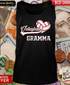 Nice Volleyball Grandma Tank Top